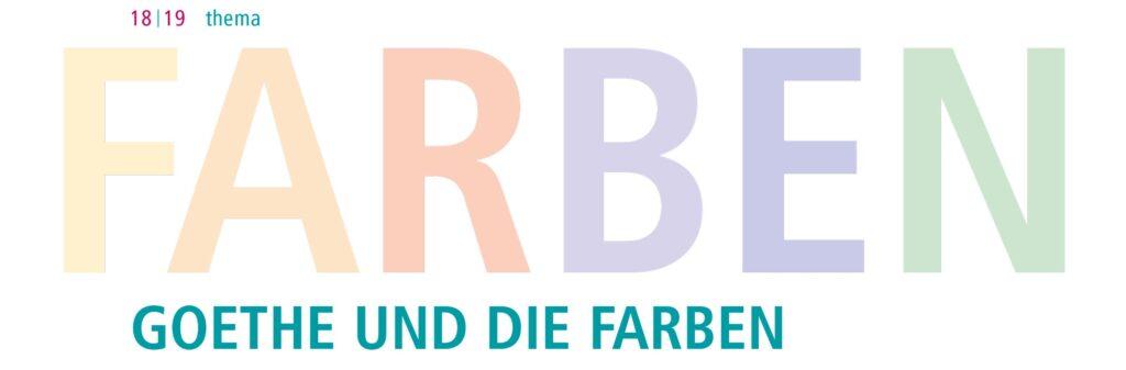 Goethe und die Farben