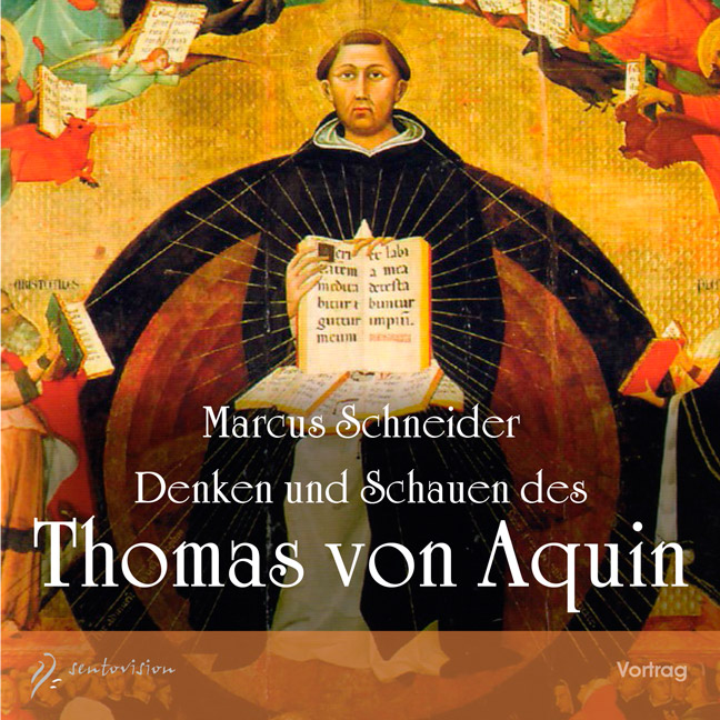 CD-Cover Layout: Thomas von Aquin