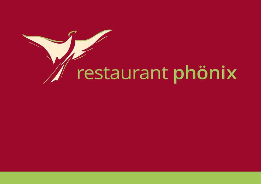 Corporate Design: Restaurant und Verein Phönix