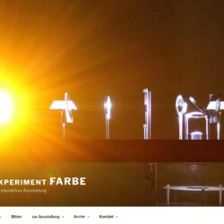 Website: Experiment FARBE