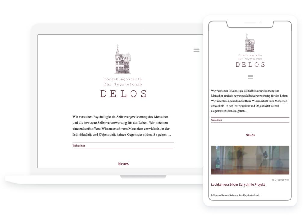 DELOS Website